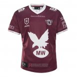 Maglia Manly Warringah Sea Eagles Rugby 2021 Home