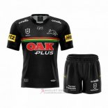Maglia Bambini Kit Penrith Panthers Rugby 2021 Home
